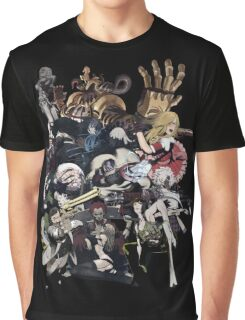 No More Heroes - Top 10 Ranked Assassins (concept art collage) Graphic T-Shirt