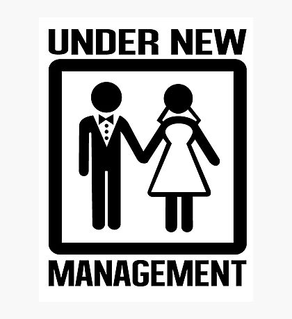 Under New Management Photographic Print