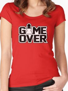Game Over - Wedding Women's Fitted Scoop T-Shirt