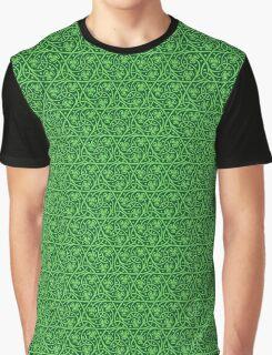 Irish Celtic Shamrocks Graphic T-Shirt