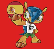 World cup mascot love spain by miky90