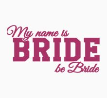 My name is Bride, be bride by nektarinchen