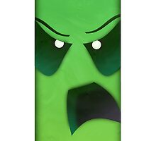 Slime - Minecraft iPhone Case  by Bettci
