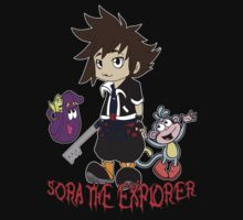 Sora The Explorer by nerdgazzum