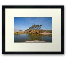 Dragons Back Budleigh Salterton Framed Print