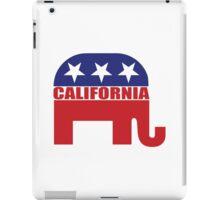 California Republican Elephant iPad Case/Skin