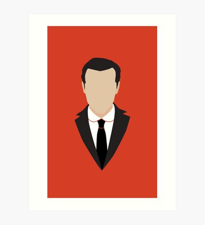 3 Jim Moriarty Art Print