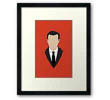 3 Jim Moriarty Framed Print