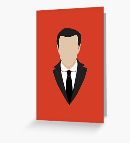 3 Jim Moriarty Greeting Card