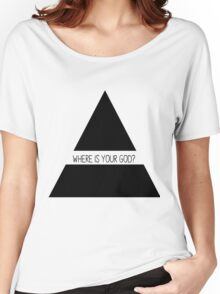 Where is your God? / 30 Seconds To Mars Women's Relaxed Fit T-Shirt
