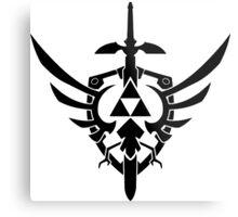 Legend Of Zelda Tri-force Metal Print