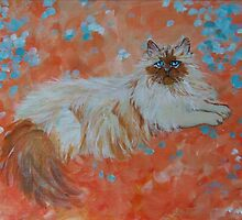 Impressionistic Persian by Carole Chapla