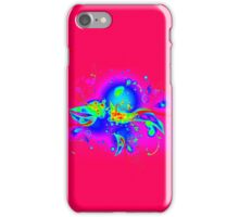 Abstract Psychedelic Flourishes iPhone Case/Skin