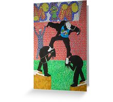Musical Escape Greeting Card