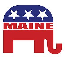 Maine Republican Elephant by Republican