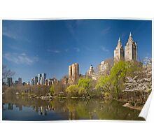 Central Park West in Spring Poster