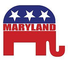 Maryland Republican Elephant by Republican