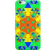 Abstract Psychedelic Kaleidoscope iPhone Case/Skin
