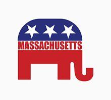 Massachusetts Republican Elephant Unisex T-Shirt
