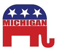 Michigan Republican Elephant by Republican