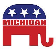 Michigan Republican Elephant by Republican