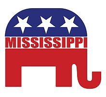 Mississippi Republican Elephant by Republican