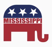 Mississippi Republican Elephant T-Shirt