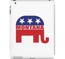 Montana Republican Elephant iPad Case/Skin