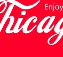 Enjoy Chicago Sticker
