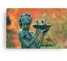 Autumn Bath Canvas Print