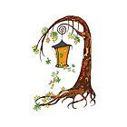 Fairy tree by Elsbet