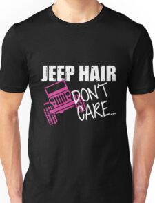 Jeep Hair Don't Care Shirt Unisex T-Shirt
