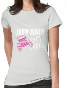 Jeep Hair Don't Care Shirt Womens Fitted T-Shirt