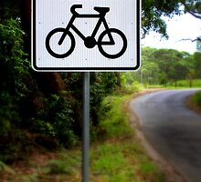 Watch for Bikes Sign by jimrac