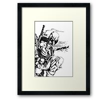 Weapon XI Framed Print