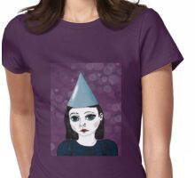 Lonely Girl's purple party Womens Fitted T-Shirt