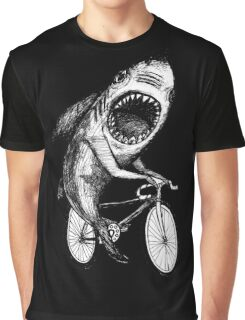 Shark Ride Bicycle  Graphic T-Shirt