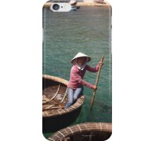 LADY IN FISHING BASKET iPhone Case/Skin