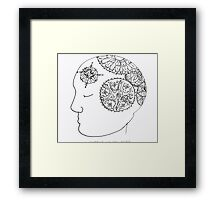 Wheels of the Mind Framed Print