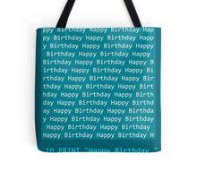 Happy Birthday - BASIC Tote Bag