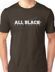 All Black(s) Everything (Wht) Unisex T-Shirt