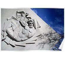Prometheus In A Circle Of Bondage Poster