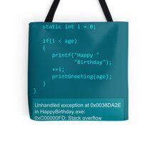 Happy Birthday - C Tote Bag