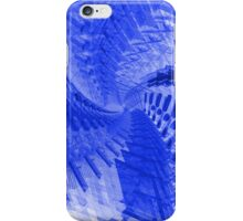 Abstract Blue Spiral iPhone Case/Skin