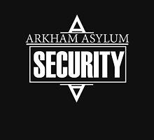 Arkham Asylum // Security Design // White Font Unisex T-Shirt