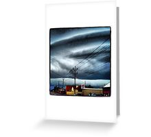 Storm Clouds on Brentwood Road I Greeting Card