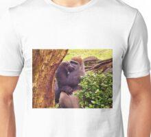 Shy Gorilla Unisex T-Shirt