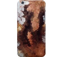 Copper and Silver  iPhone Case/Skin