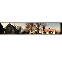 Willingale Churches Photographic Print