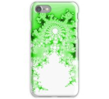 Abstract Green Fractal iPhone Case/Skin